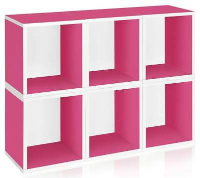 Storage Cube Plus in Pink - Set of 6 [ID 133040]