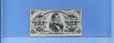 FR 1295 - Twenty Fifty Cents Fessenden 3rd Issue Fractional Almost Unc