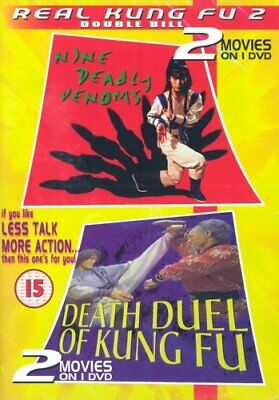 Death Duel of Kung Fu/9 Deadly Venoms [DVD] - DVD  UMVG The Cheap Fast Free Post