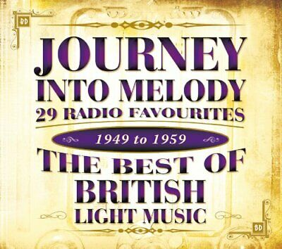 Various Artists - Journey Into Melody - The Best of... - Various Artists CD FMVG