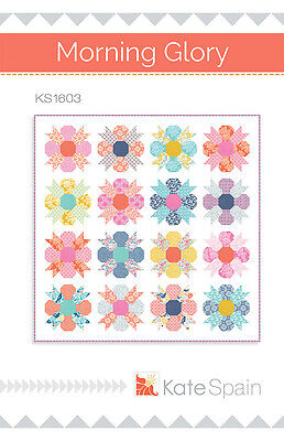 MORNING GLORY by Kate Spain - Pieced Quilt Kit 72 x 72 w/ Moda Early Bird Fabric