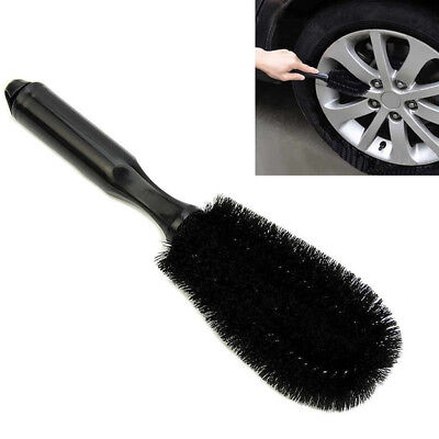1x Car Motorcycle Washing Cleaning Wheel Tire Rim Scrub Brush Tool Applied