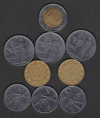 Italy - Bulk Lot Of Current Coins - May Be Useful For Travellers Or Collectors