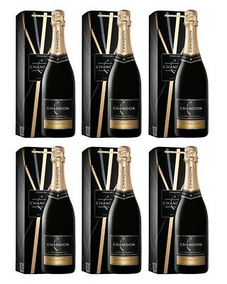 Chandon Brut Vintage 2012 Gift Boxed x 6 750ml