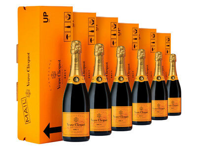 Veuve Clicquot EXPRESS Yellow Label NV Gift Box x 6 750ml