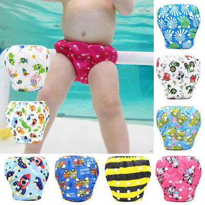 Baby Swimming Brief Infant Leakproof Waterproof Urineproof Diaper Swimming Pants