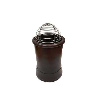 Wire Chimney Pot Balloon Bird Cage Guard - Easy Push to Fit Design