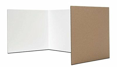 Flipside Products 60005 Study Carrel, White Pack of 24