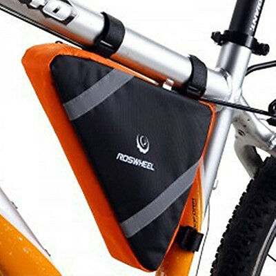 Outdoor Bicycle Bike Front Top Tube Triangle Frame Bag Saddle Pouch Storage Case