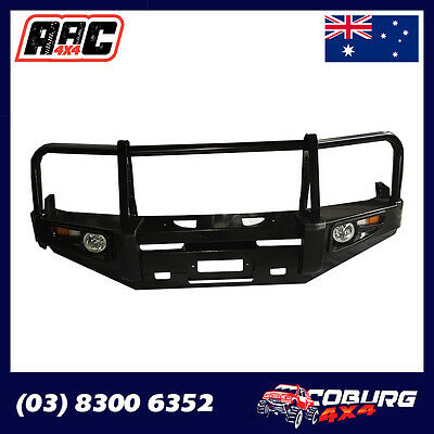 Ford Ranger Bullbar Winch Bar With Lights Suits 2012+ Models