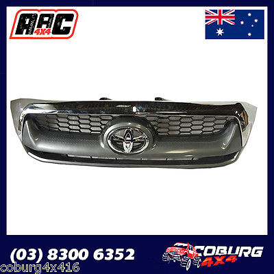 Toyota Hilux Grille Grill Chrome Front Sr Or Sr5 . Toyota Hilux 2005-2011