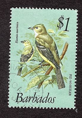 1979 Barbados $1 Caribbean elaenia SG635 GOOD USED R31172