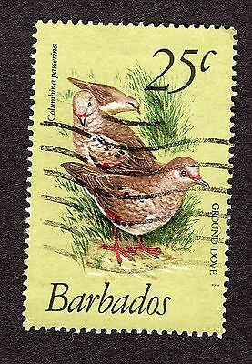 1979 Barbados 25c Scaly breasted ground dove SG629 FINE USED R31170