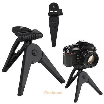 "Mini Lightweight Portable Folding Tripod Stand Hand for 1/4"" SLR Sports Camera"