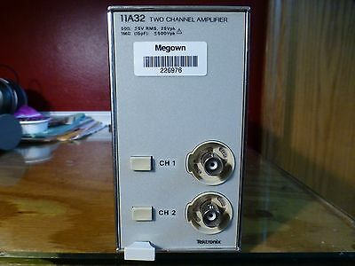 Tektronix 11A32 Two Channel Amplifier