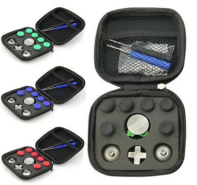 11x Magnetic Thumbstick Buttons Set Tool Kit For XBox One Elite PS4 Controller