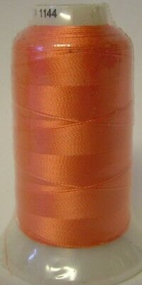 Embroidery Machine Thread Rayon 1000 metre Spools CORAL A921.1144