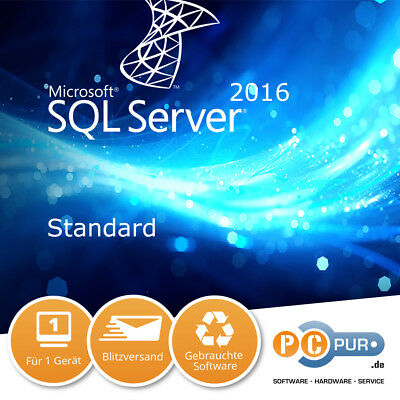 Microsoft MS SQL Server 2016 Standard 1CPU Original