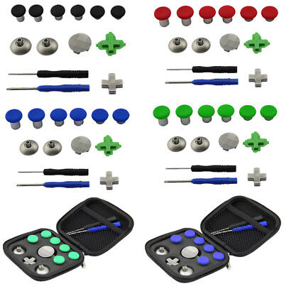 11x Replacement Magnetic Thumbsticks Buttons For XBox One Elite PS4 Controller