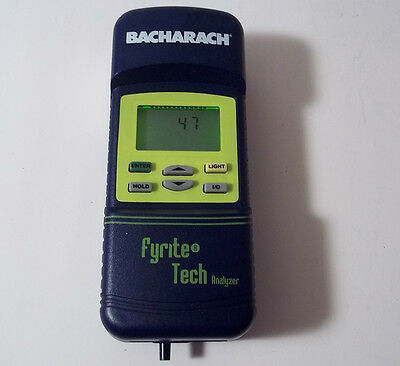Bacharach Fyrite Tech Analyzer Combustion Gas Tester Unit Only TESTED WORKING