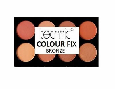 Make Up Palette Kit Technic Colour Fix Contour Powder Cream Bronzer