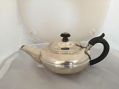 STUNNING & RARE SOLID SILVER SCOTTISH TEAPOT (GLASGOW 1929) 668g Gross