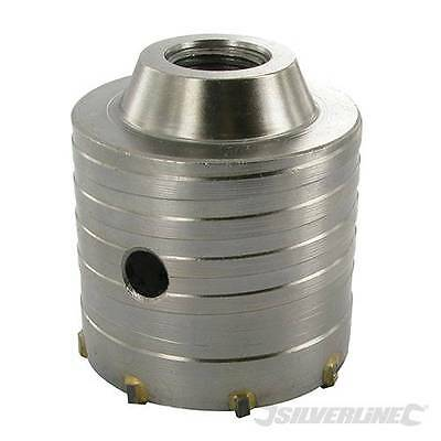 65mm TCT Carbide Core Drill  Hole Cutter On HEX ARBOR Waste Pipe Extractor Hole