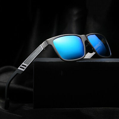 Men's Aluminium Polarized Colored Sunglasses Driving Outdoor Fishing Eye