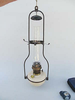 Original Aladdin Alacite Hanging Lamp (1940-49). Model B Burner
