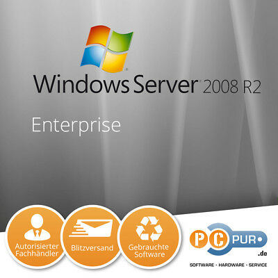 Microsoft MS Server 2008 Enterprise R2 inkl. 25CAL Original
