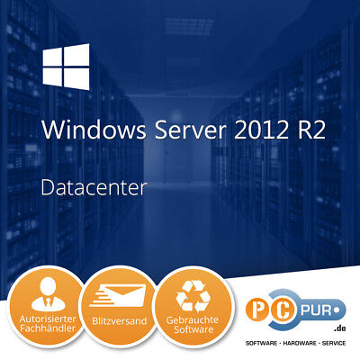 Microsoft MS Server 2012 Datacenter R2 2CPU Original
