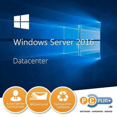 Microsoft MS Server 2016 Datacenter 64-Bit Original