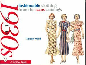 Fashionable Clothing from the Sears Catalogs Mid 1930s vintage fashions book