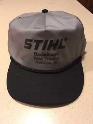 Stihl-Ford Tractor Dealer Hat NOS