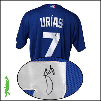 Julio Urias Autographed Signed Los Angeles Dodgers Baseball Jersey Psa/dna Coa
