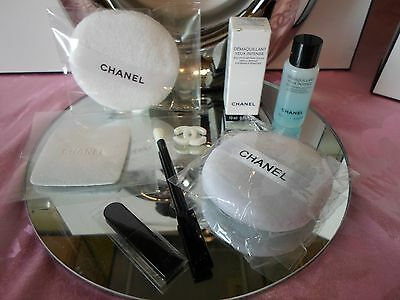 Chanel Démaquillant Yeux Eye Intense Make-up Entferner 10ml, Pads usw. Neu!