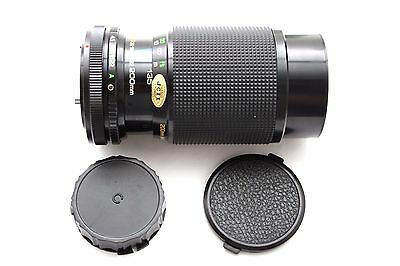 Rokinon 80-200mm f4.5 MC Manual Focus Zoom Lens for Canon FD 24256