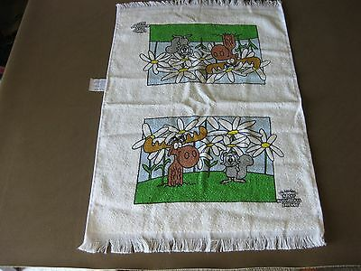 The Adventures of Rocky and Bullwinkle and Friends Towel