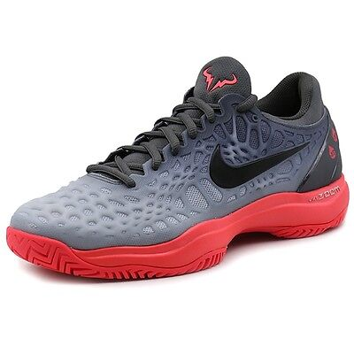 Nike Zoom Cage 3 HC Tennis Shoes All Court Rafael Nadal 918193-002