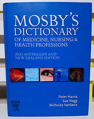 Mosby's Dictionary of Medicine Nursing and Health Professions! Book by Elsevier!