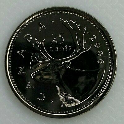 2006P Canada 25 Cents Proof-Like Quarter Coin