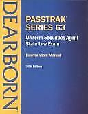 Uniform Securities Agent State Law Exam: License Exam Manual : Series 63...