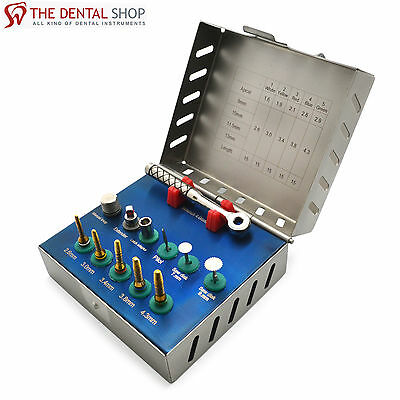 Bone Expander Kit Dental Sinus Lift with Saw Disks Implant Surgical Lab Tools CE