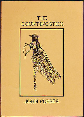 The Counting Stick by Glasgow Poet John Purser Signed Copy (Paperback, 1976)