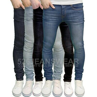 Loyalty and Faith Men's Designer Branded Stretch Super Skinny Fit Jeans, BNWT