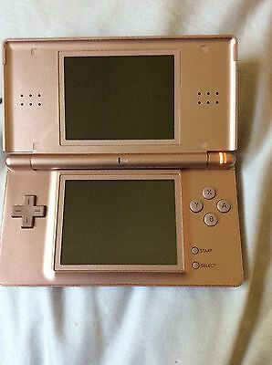 nintendo ds lite metallic rose console 10 games bundle eur 44 15 picclick ie. Black Bedroom Furniture Sets. Home Design Ideas