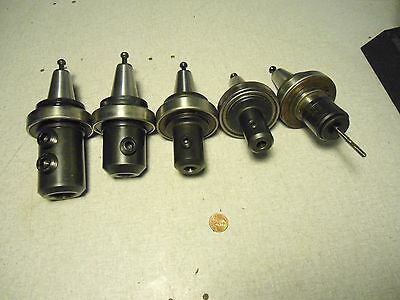 Parlec BT30 Tool Holders Lot of 5