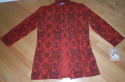 """New & Unused NEPAL CHEPPU HIMAL TUNIC """"One of a Kind"""" HAND LOOMED w/ LABEL"""