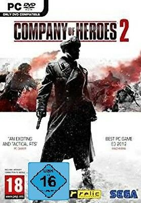 PC COMPANY OF HEROES II 2 Expédition DVD Jeu d'ordinateur NEUF