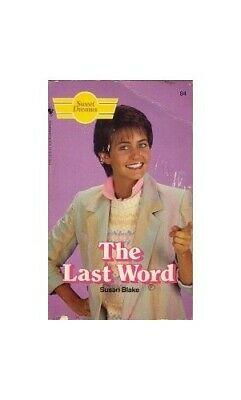 Last Word (Sweet Dreams) by Blake, Susan Paperback Book The Cheap Fast Free Post